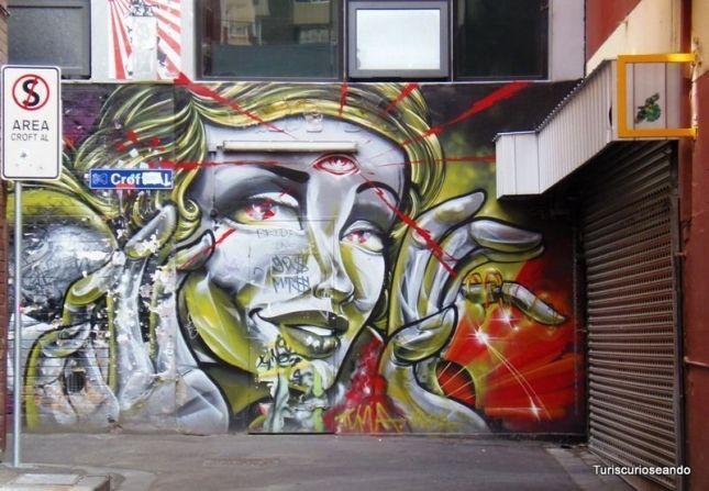 MELBOURNE. LA CIUDAD DONDE REINA EL ARTE URBANO