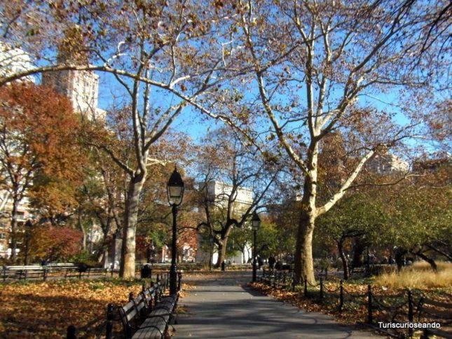 UNION SQUARE, GREENWICH VILLAGE Y METRO NUEVA YORK