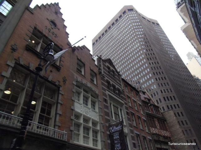 LOWER MANHATTAN, WALL STREET Y EL PUENTE DE BROOKLYN
