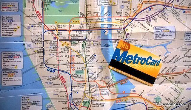 Todo sobre la MetroCard para moverte en Nueva York