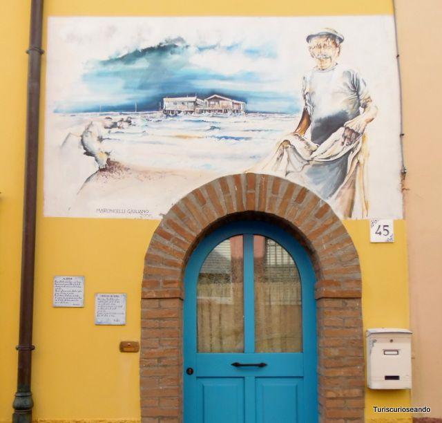 De paseo por San Giuliano (Rímini)