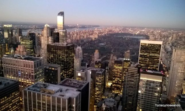 Nueva York y el Observatorio Top of The Rock