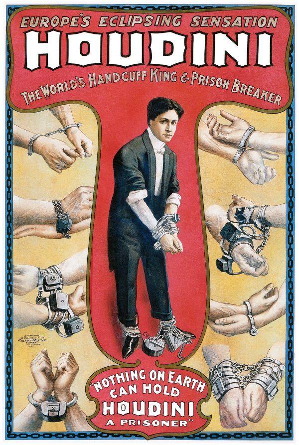"""""""Houdini, las leyes del asombro"""""""