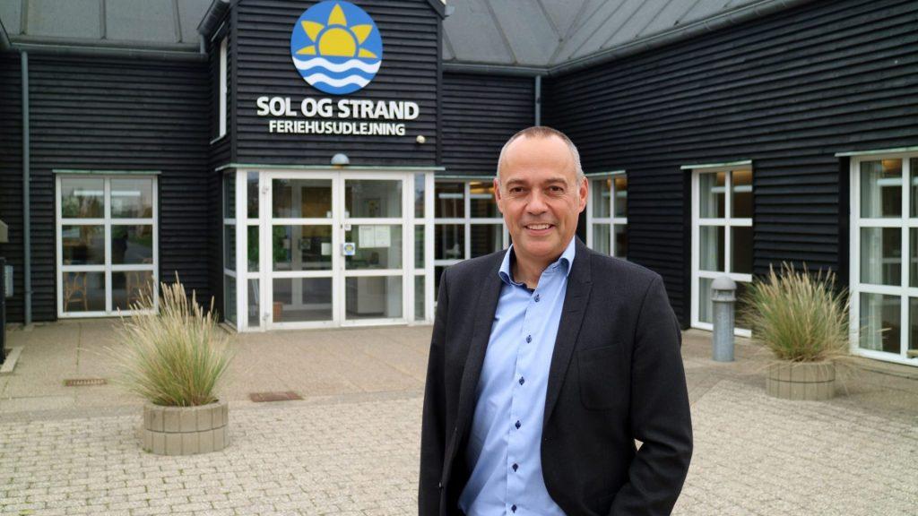 Per Dam, CEO, Sol og Strand. (PR-foto)