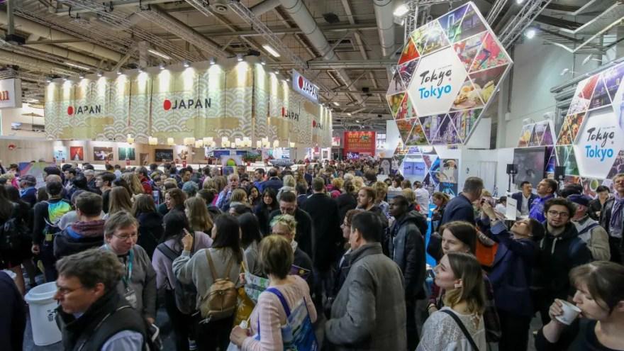 ITB Berlin har normalt over 150.000 gæster - men næste år bliver messen afviklet virtuelt. (Foto: Messe Berlin GMBH)