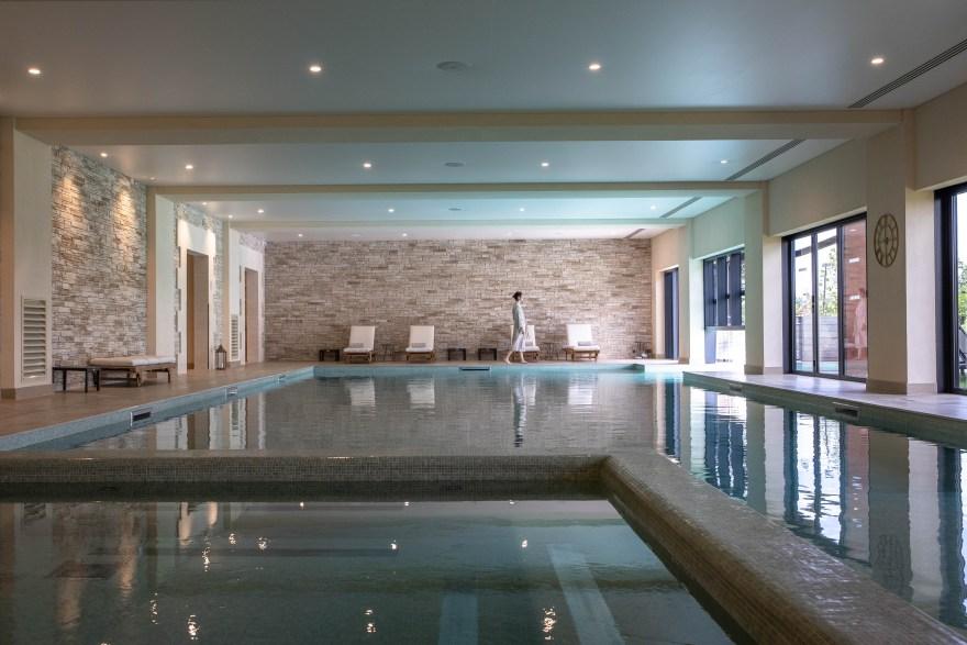 I wellnessområdet finder man et spa, fitnesscenter, jacuzzi, dampsauna og sauna. (PR-foto)
