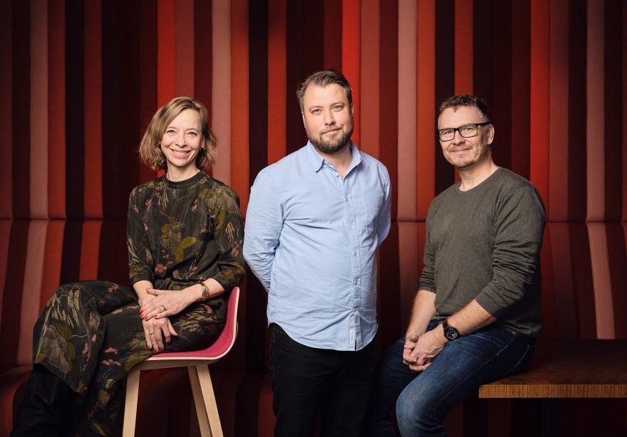 Anna Porse, Jesper Skeel og Lars Bo Axelholm. (Foto: Kristian Sønderstrup-Granquist)