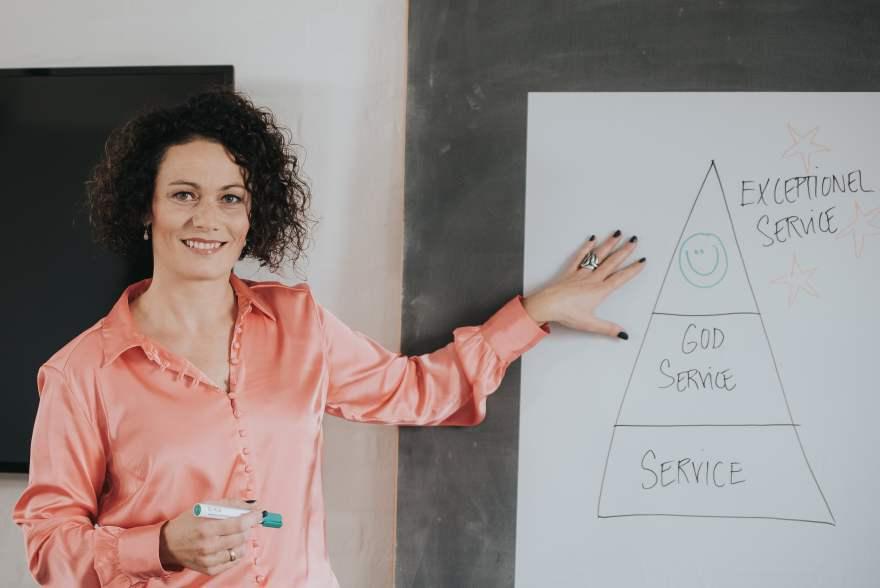 Christina Brinks, Serviceambassadør og indehaver af SERVICEKONCEPT (PR-foto: Zoey Elinor)