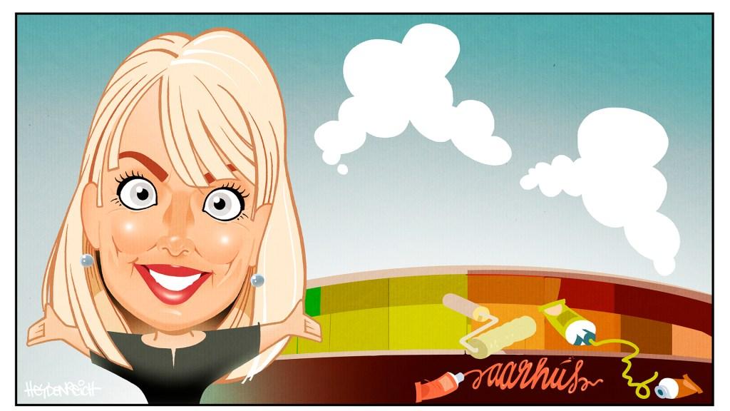 Pia Lange Christensen, illustration: Peter Heydenreich