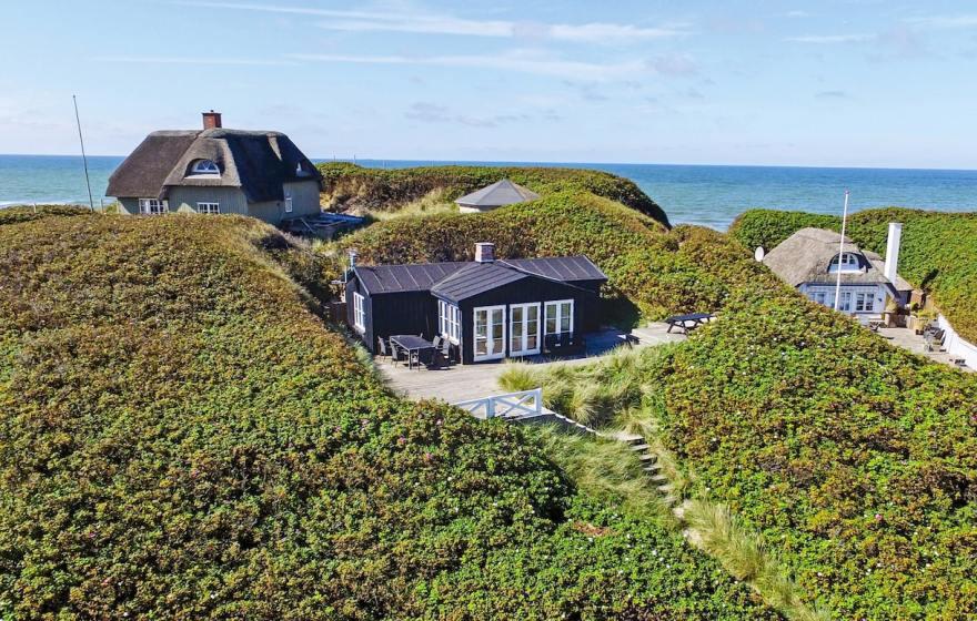 Danskerne fylder de danske feriehuse i sommeren 2021. Men tyskerne er igen begyndt at søge efter ferie i Danmark, viser tal fra Novasol. (Foto: Novasol)