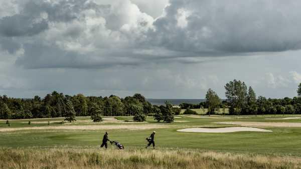 Golf på Langeland. Foto: Mette Johnsen