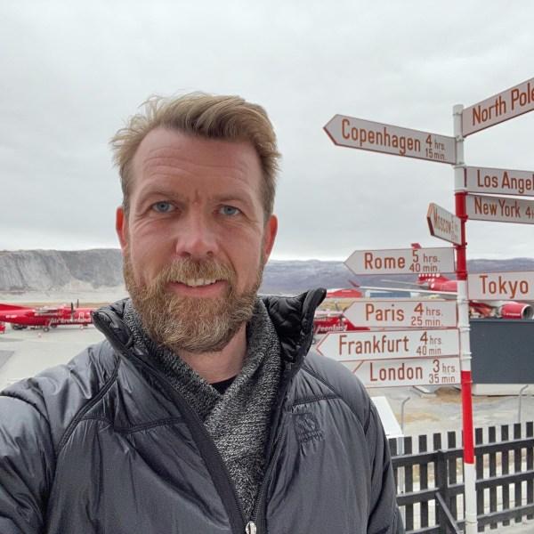 Hjörtur Smárason, direktør, Visit Greenland. (Foto: Visit Greenland)