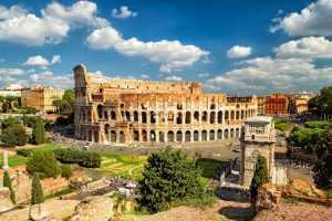 famosos monumentos da itália