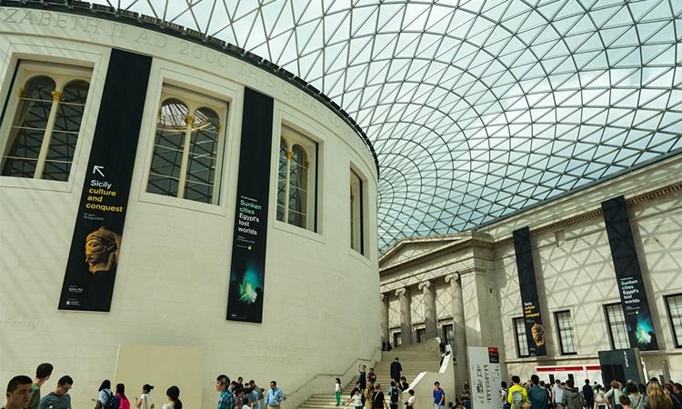 visitar o museu britânico