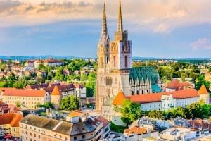 zagreb é uma das cidades da europa mais baratas para viajar