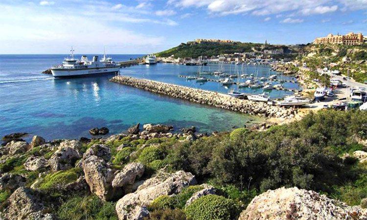 Ilha de Gozo, em Malta