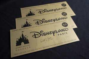 Ingresso Disney Paris
