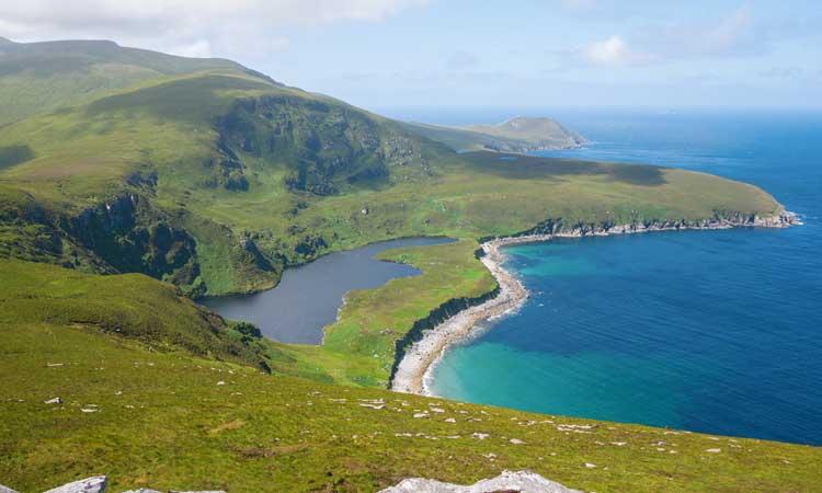 ilha de achill irlanda