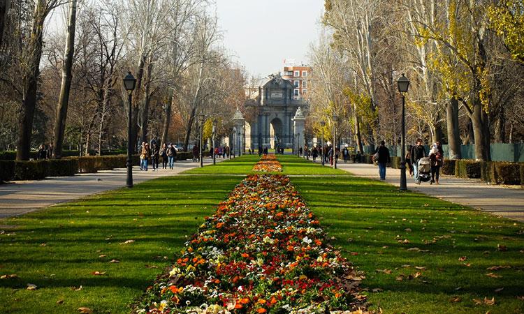 Parque El Retiro em Madrid