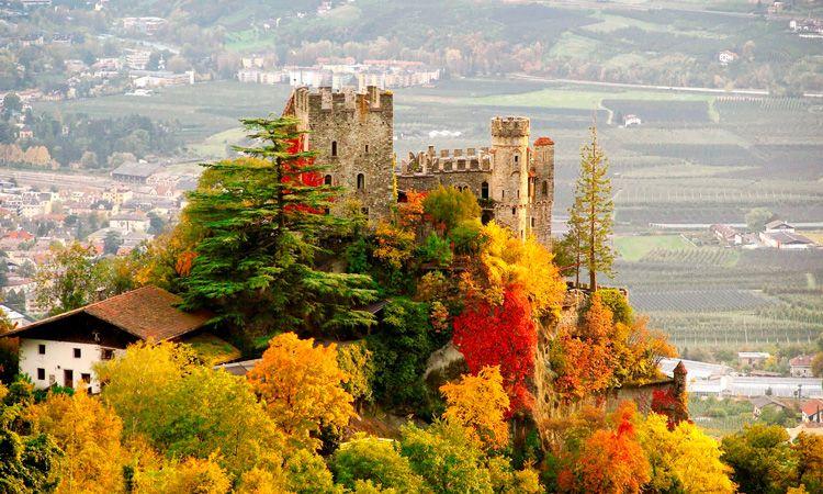 Como é o outono na Itália
