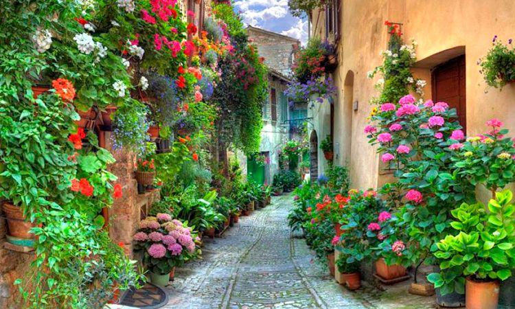Como é a primavera na Itália