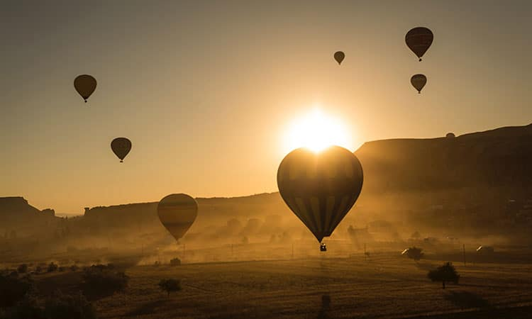 Balonismo na Capádocia