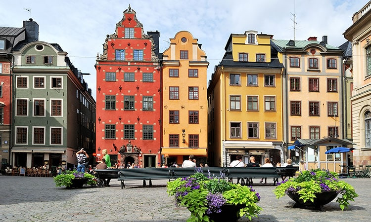 Gamla Stan em Estocolmo