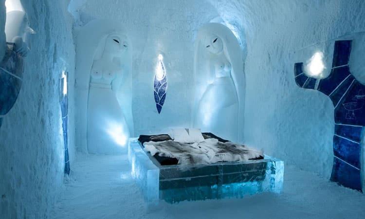 Hotel de gelo em Jukkasjärvi