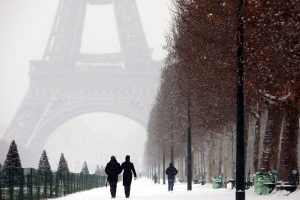 Neve na Europa