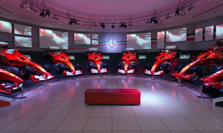 Ferrari F1 museu