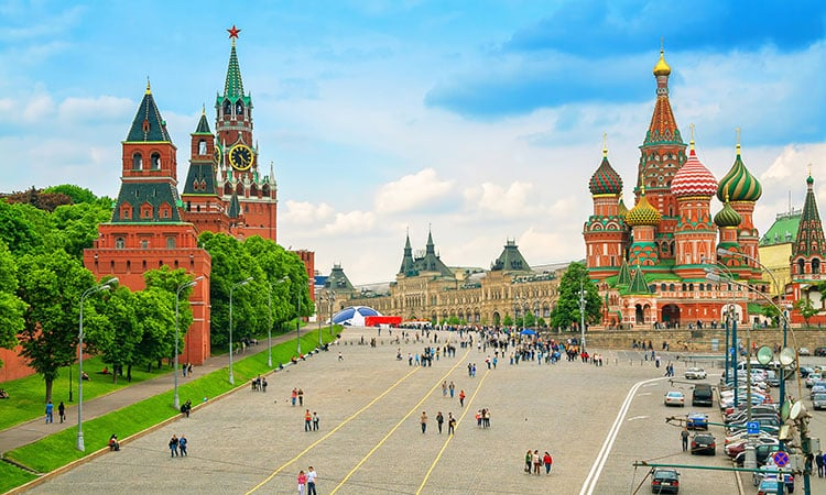 Onde se hospedar na Rússia