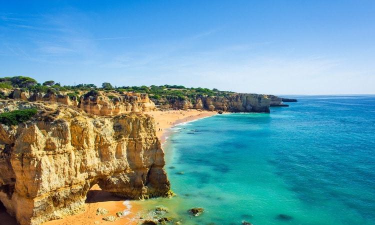 Praias de Portugal Dona Ana