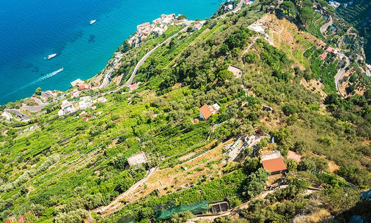 Vila Revello na costa Amalfitana