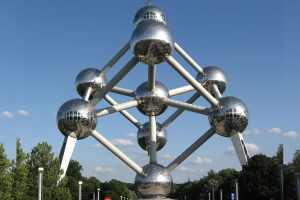 Atomium na Bélgica