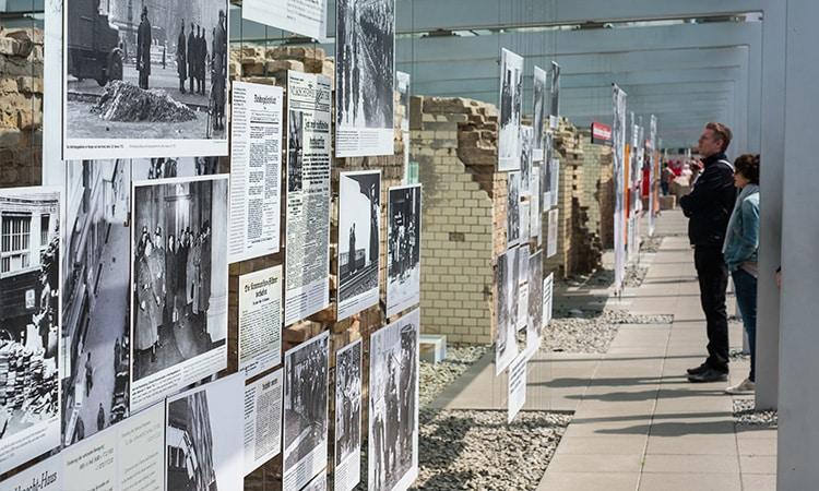 muro de berlim tografia do terror