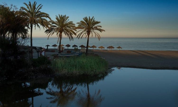 marbella espanha praia