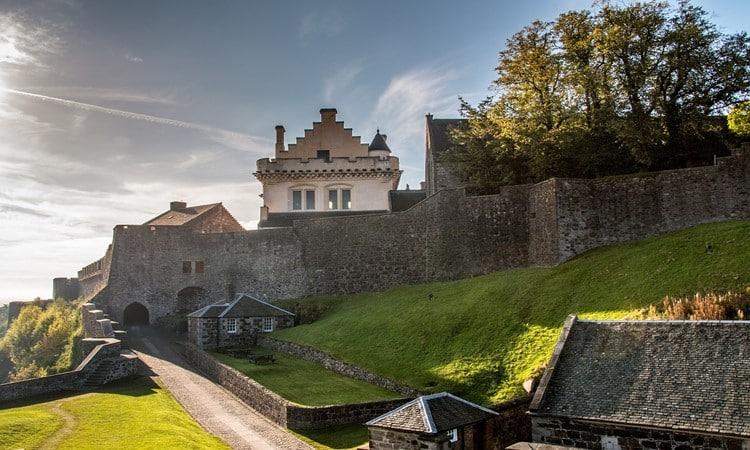 stirling na escocia castelo
