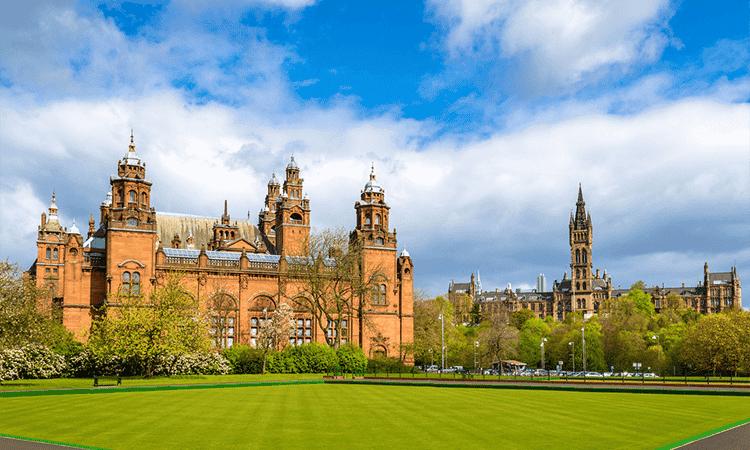 Universidade de Glasgow na Escócia