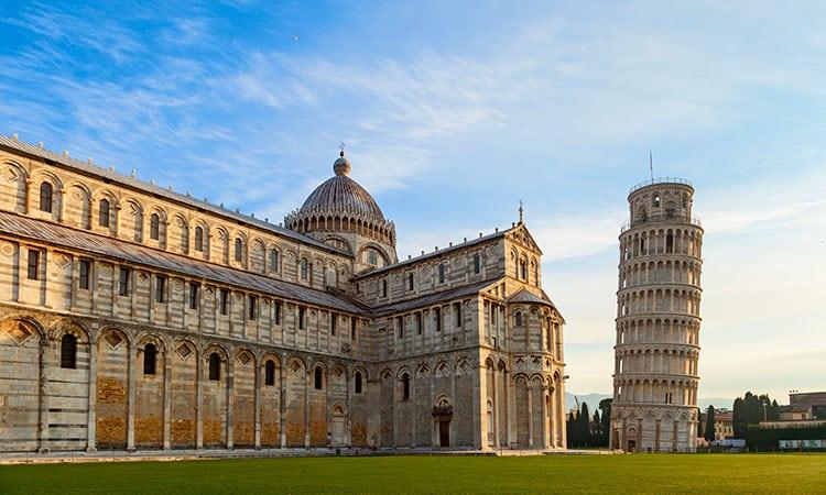 cidades italianas mais bonitas pisa