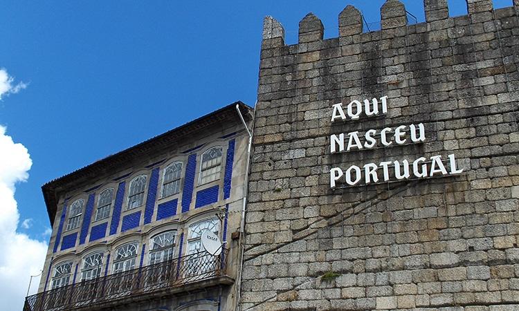 guimaraes, cidades perto do Porto em Portugal