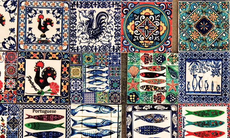 lembrancas de portugal azulejo
