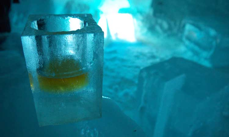 bar de gelo em barcelona