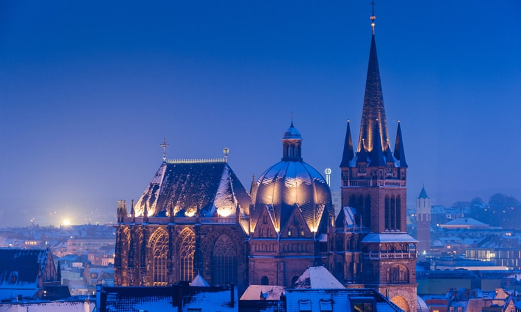 catedral de aachen igrejas da alemanha