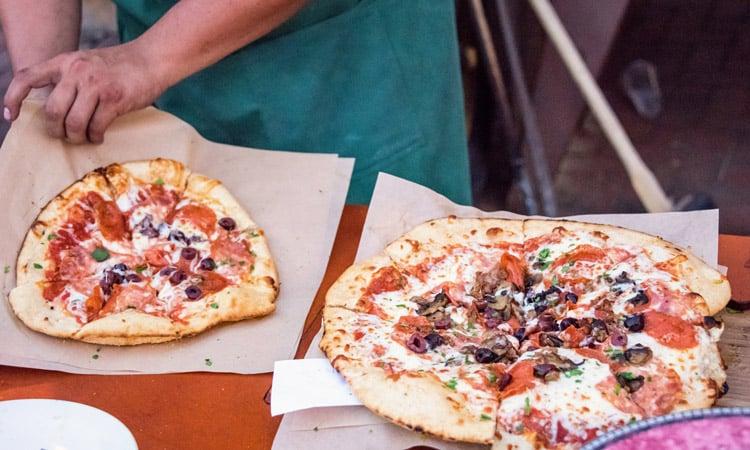 melhores restaurantes em roma para comer pizza