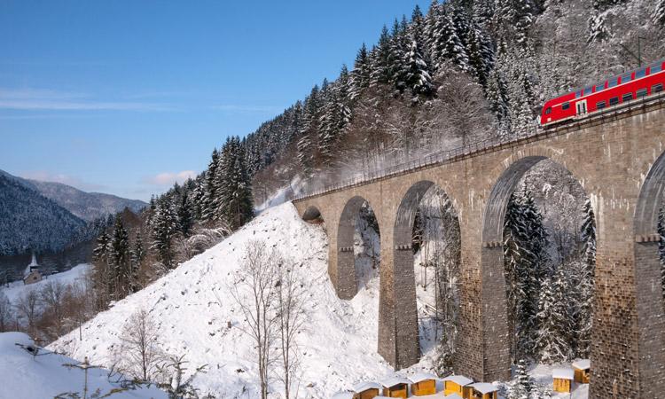 principais rotas de trem na europa