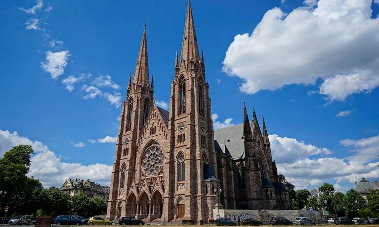 turismo religioso na franca catedral de estrasburgo
