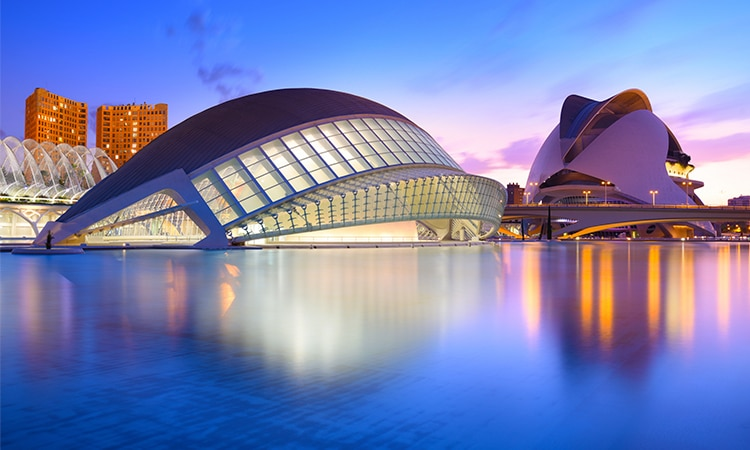 cidade das artes e das ciencias em valencia