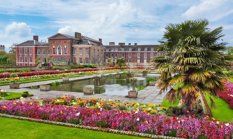 palacio de kensington jardins