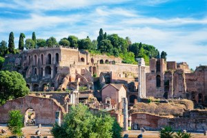 palatino em roma