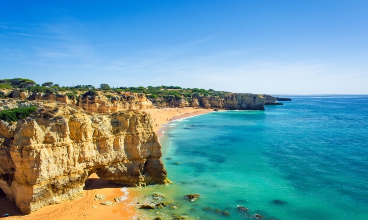 melhores praias da Europa dona ana